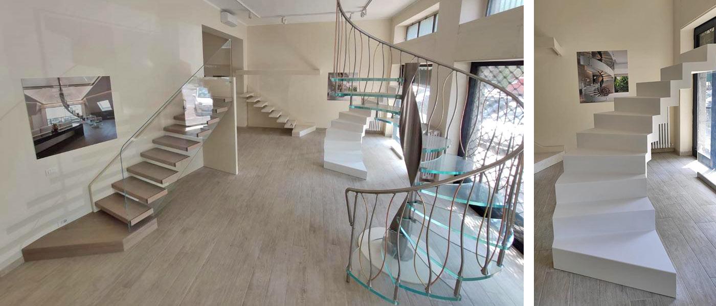scale Marretti design showroom milano